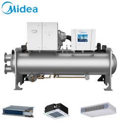 Midea二段式圧縮1200rt Ccwf1200EV 4219kwのインバーターは遠心水スリラーポンプを指示運転する