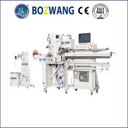 Bozhiwang 철사 /Cable 하네스 기계, 기계를 주름을 잡는 가득 차있는 자동적인 높은 정확한 두 배 끝