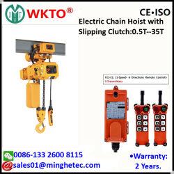 Wkto 5t palan électrique à chaîne avec chariot motorisé avec manuel d'un palan