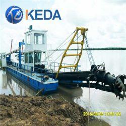 川の浚渫船機械砂の海の浚渫の容器装置