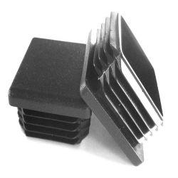 Gummisilikon Belüftung-steckt quadratische Schlauchendstöpsel-Plastikgefäß-Einlage Stuhl-Fuss-Gefäß-Möbel-Gleiten ein