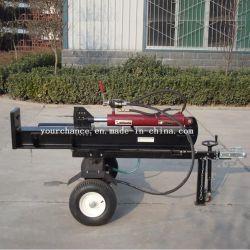 Haute qualité LS-20t 20 tonnes 6.5HP Selfpower Log séparateur avec l'Essence / moteur diesel