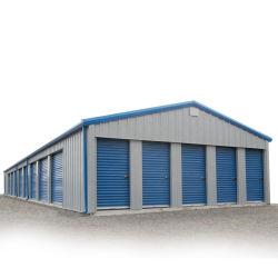 速く軽い鉄骨構造車のガレージの記憶の小屋車の建物をインストールしなさい