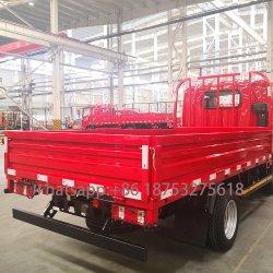 FAW 화물 트럭을%s 강철/알루미늄에 의하여 그려지는 픽업 트럭 쟁반 바디