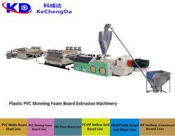 A placa de anúncio de PVC/linha de extrusão de Extrusão de plásticos