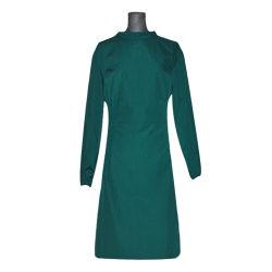 Chirurgische werkkleding lange mouw Pure Cotton Wash kleding in Dark Green mannen en vrouwen artsen naar de operatiekamer Desinfectiekleding