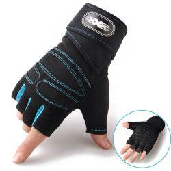 人のための熱い販売の重量挙げ半分指の手袋の屋外スポーツの適性装置の体操のトレーニングの手袋