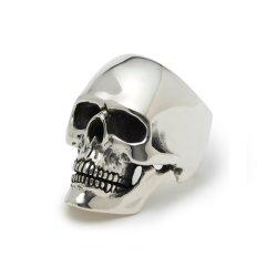 925 فضة / بروس روديوم جمجمة خاتم مجوهرات الأزياء