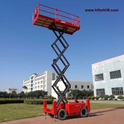 ディーゼル力の移動式油圧は屋外で使用される上昇表のプラットホームを切る