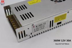 360W 12V 30A Gleichstrom-KONVERTER LED Schaltungs-Modus-Stromversorgung SMPS