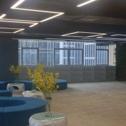 50*70mmの長い生命ピリオドLED Pendentライト20W~80W LEDオフィス吊り下げ式工学オフィス線形ライト