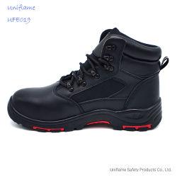 PU единственной En натуральная кожа буровых вышек Обувь Ufe019стали Toe безопасности специальную обувь для мужчин поле масла обувь работу загружается с высоким качеством