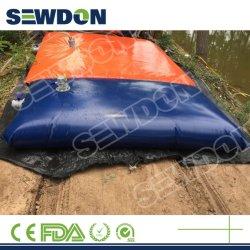 Design personalizado travesseiro PVC TPU recolhível reutilizáveis do Tanque de Água do Tanque de Bexiga