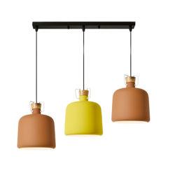 Zes Kleuren voor de Moderne het Hangen van het Huis Verlichting van de Decoratie van de Lamp van de Tegenhanger
