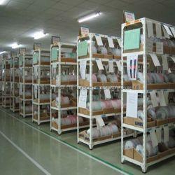 Промышленные складские системы хранения данных стали угол с прорезями легких полки для установки в стойку