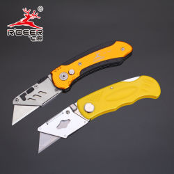 Poignée colorée Couteau pliable