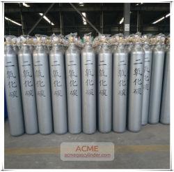 40L do aço o cilindro de gás para o árgon/ /Oxigénio de dióxido de carbono