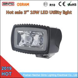 Meistgekauftes 10W 3 '' Mini-LED Arbeits-Licht für nicht für den Straßenverkehr LKW-Aufnahme