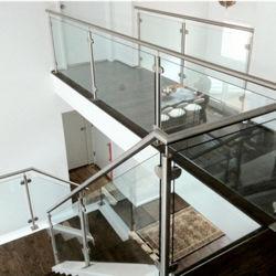 تصميم زجاجيّة جبل نظامة مربّع أنابيب [ستينلسّ ستيل] درابزين شرفة [هند ريل] زجاج جهاز