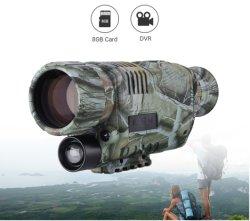Imagers DVR voor Monocular van de Beschermende bril van de Visie van de Nacht van de Jacht Digitale Infrarode