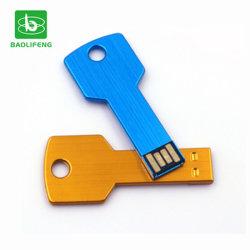Livraison rapide de la conception de métal Logo gratuit personnalisé imprimé 4 GO 8 GO de 16Go de forme de clé USB lecteur Flash USB Memory Stick™
