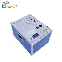 China Transformador Automático Tan Delta e capacitância perda dielétrica e fator de dissipação Tester 12kv