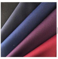 Les hommes de gros de la chemise de fibre de bambou spandex polyester Tissu à armure sergé solide Shirt