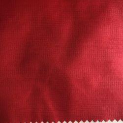 210t 0.15cm de Nylon Melkachtige Met een laag bedekte Stof van de Taf Ripstop