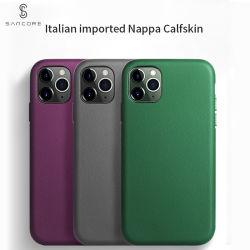Cassa reale del telefono del cuoio iPhone11/PRO/Promax di Sancore Nappa