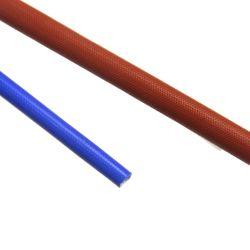 UL Aislante de dióxido de silicio fundas de fibra de vidrio trenzado