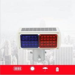 La luz de advertencia de la construcción solar Luz estroboscópica de tráfico