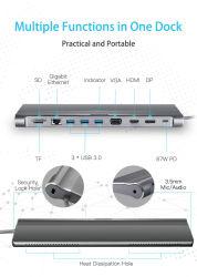 Durabilité structurelle Dongle USB C avec la pleine fonctionnalité pd