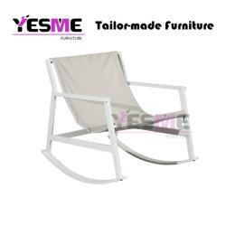 새로운 대중적인 현대 여가 옥외 가구 정원 홈 거실 휴양지 호텔 여가 현대 알루미늄 흔들 의자