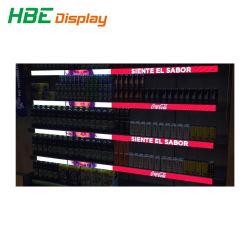 Супермаркет электронных Smart LED цифровой шельфа видео кромки Метка отображения