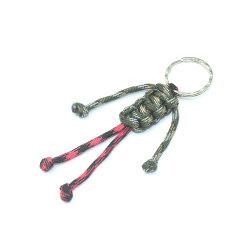 Различные цвета ленты веревки соткать цепи ручной работы из нейлона Paracord цепочки ключей