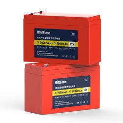 LI 18650 충전식 배터리 12V 대체 납산 배터리 잔디 깎기 배터리 12V 12ah 리튬 이온 배터리 팩