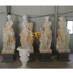 Mezcla de colores blanco y el Mármol Piedra Onyx/Jardín de Esculturas de Four Seasons estatua a la venta