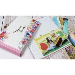 Tampa de Papel de arte de álbum do bebê, Fábrica de álbuns para fotografias encadernados, Personalizar Álbuns bricolage feitos à mão tem 4X6 50 fotos