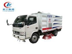 공장 공급 도시 옥외 거리 솔을%s 가진 이동할 수 있는 스위퍼 도로 청소 트럭