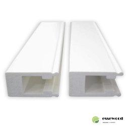 Janela de PVC pintadas Perfis de Obturação por Sorriso de vinil de fábrica de PVC do componente do perfil do Obturador