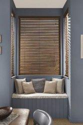 Pour la chambre Salle d'étude l'élégance naturelle des stores en bois Le bois de tilleul fenêtre vénitienne de pliage