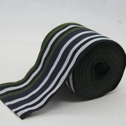 poliestere di 90mm/tessitura largamente tessuta multicolore di nylon della banda per l'indumento