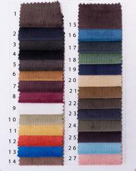 MOQ: 10m/Kleur, Katoen 14Wales/de Corduroy Stof van de Rek Spandex
