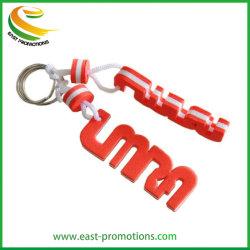 Promoción personalizada de espuma EVA en el Llavero Llavero flotante para el recuerdo