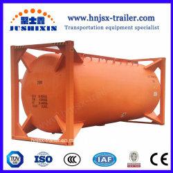 Fabricante china de la presión de almacenamiento de enlucido de cemento contenedor cisterna