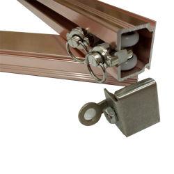 Хорошее качество алюминиевого шторки контакт магистрали одного пульта ДУ шторки контакт топливораспределительной рампе