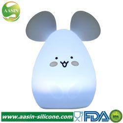 O design do mouse de Silicone Personalizada quarto para crianças da lâmpada de luz nocturna humor relaxante à beira do leito