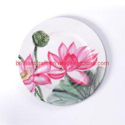 Грациозные Lotus свадьбу дешевые керамическая посуда устанавливает зарядное устройство пластину