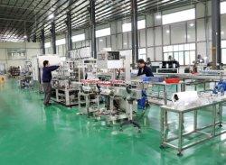 Imbottigliatrice liquida automatica con la linea di produzione di contrassegno di coperchiamento