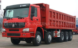 HOWO ダンパ 10X6 Hw70 ユーロ 3 ヘビーデューティダンプトラック荷台トラック